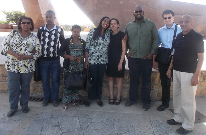 Habben Girma visit in Ethiopia with ECDD